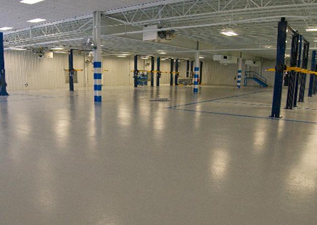полимерные бетонные полы