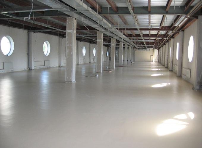 устройство промышленного бетонного пола