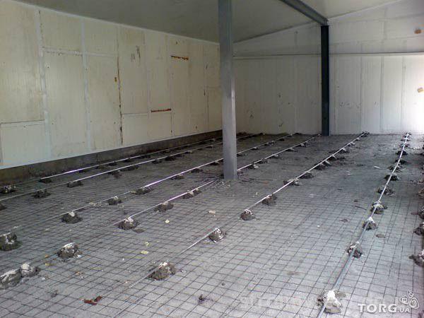 Заливка для пола на складах